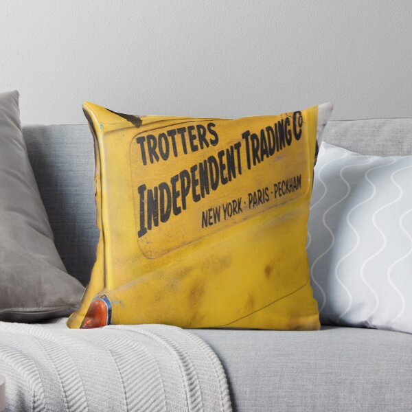 trotters independent Throw Pillow