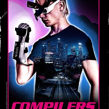 """Compilers: Delicious, But Deadly"" Movie Poster by philstrahl"