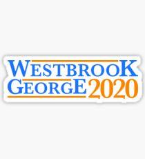 Pegatina Campaña Westbrook George
