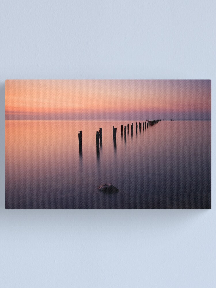 Alternate view of Quiet Afterglow Canvas Print