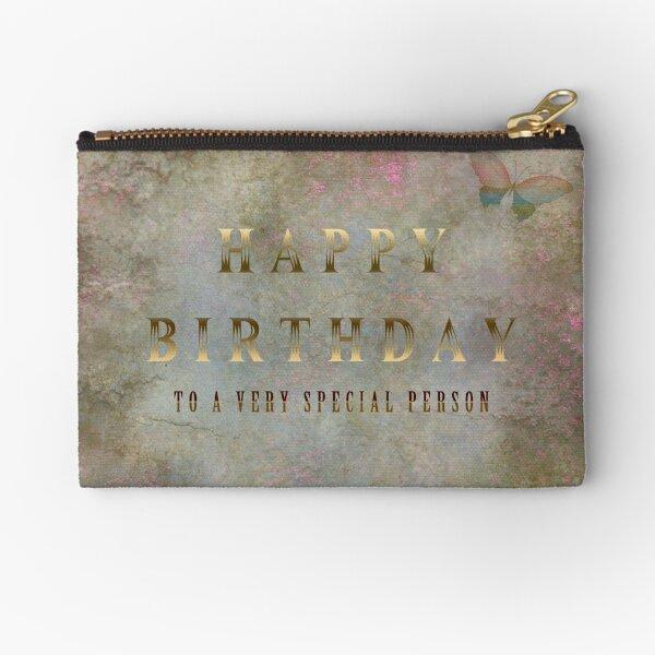 Happy Birthday Zipper Pouch