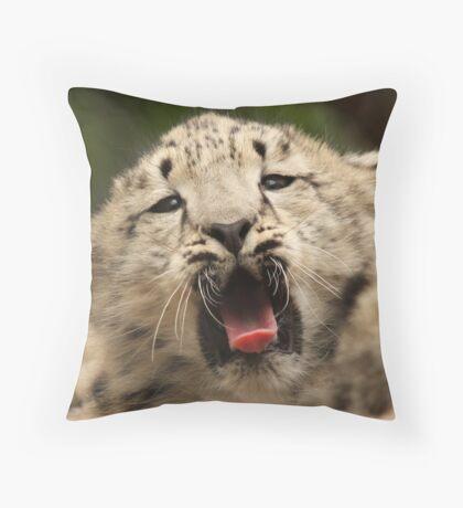 Yaawwwnnn... Throw Pillow