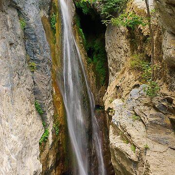 Corsica waterfall by patmo
