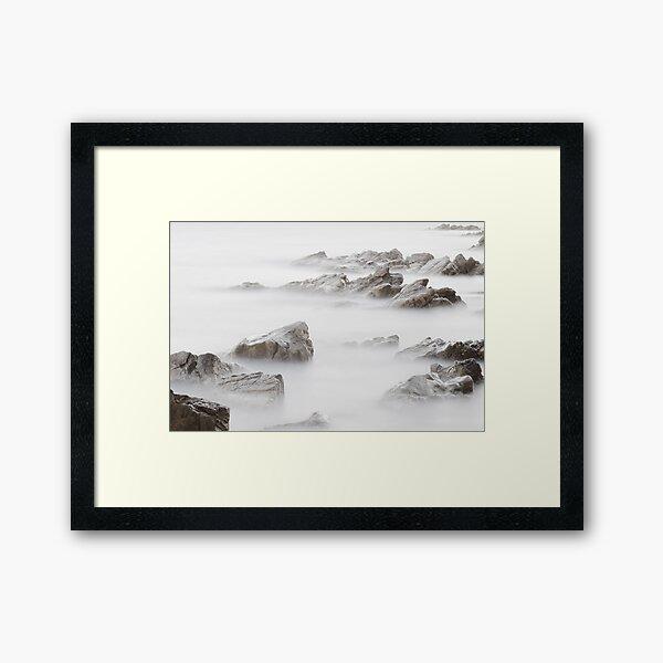 Mediterranean vapors Framed Art Print