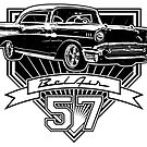 57 Chevy Belair by CoolCarVideos
