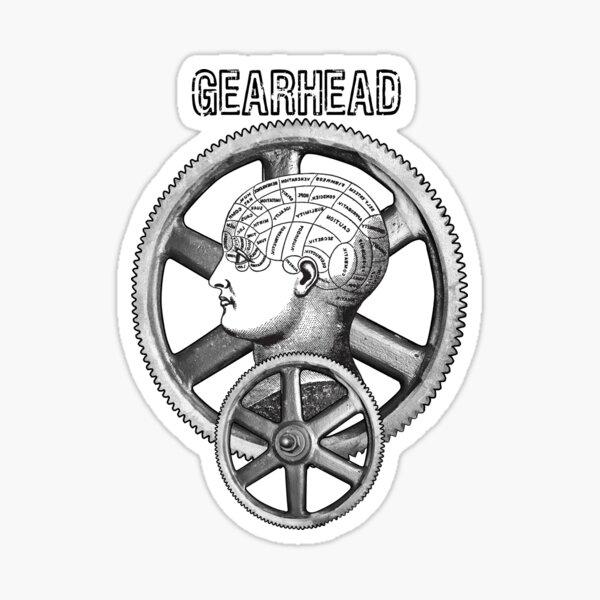 Gearhead #1 Sticker