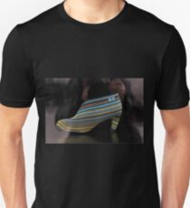 Woman's Shoe on display in a shop window T-Shirt