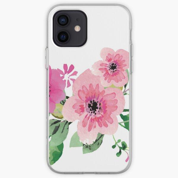 Best pink floral bouquet iPhone Soft Case