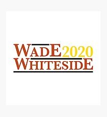 Dwayne Wade Hasaan Whiteside Campaign  Photographic Print