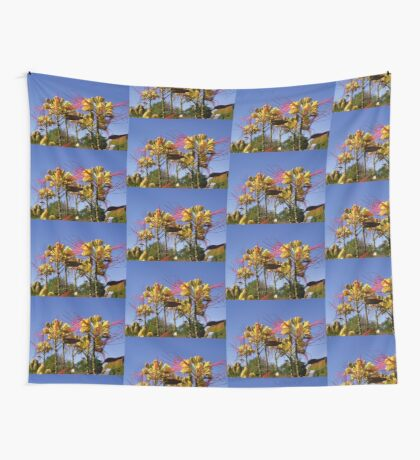 Bird of Paradise flowers Wall Tapestry
