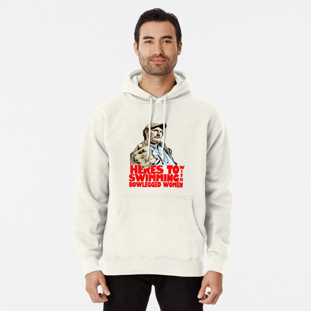 Quint- Jaws Pullover Hoodie