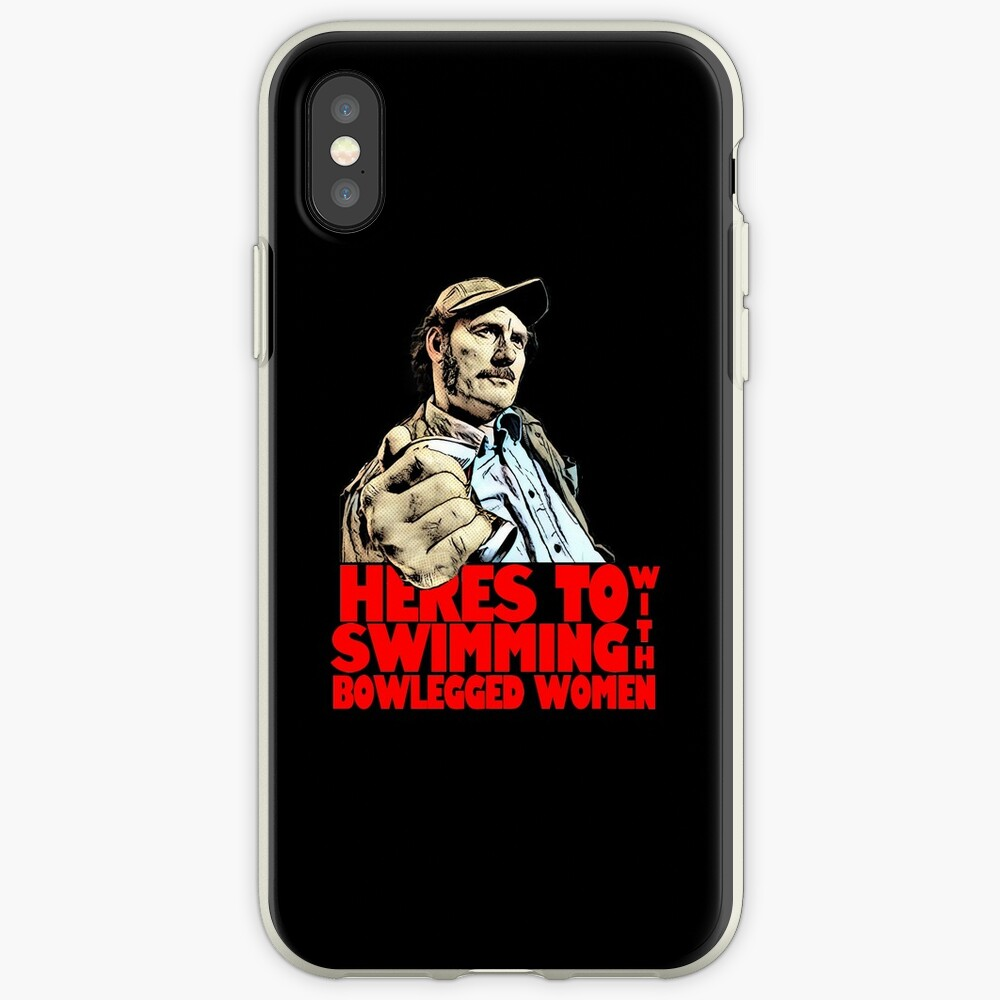 Quint- Jaws iPhone Case & Cover