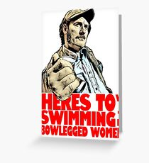 Quint- Jaws Greeting Card