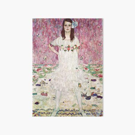 HD Mada Primavesi, or Girl In White, by Gustav Klimt 1912 HIGH DEFINITION Art Board Print