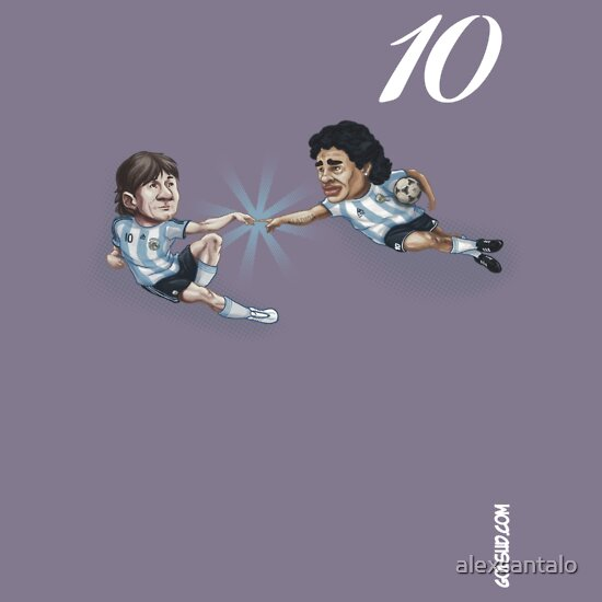 TShirtGifter presents: De Maradona a Messi