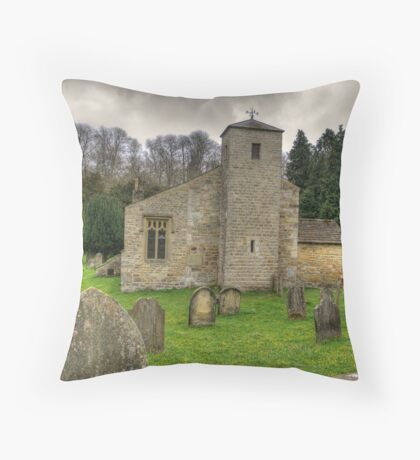 St Gregory's Minster #2 Throw Pillow