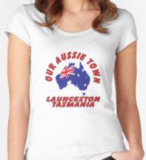 Launceston TAS Women's Fitted Scoop T-Shirt