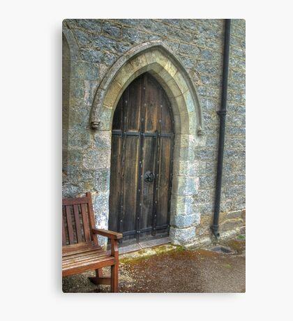 The Door - St Gregory's Minster Metal Print