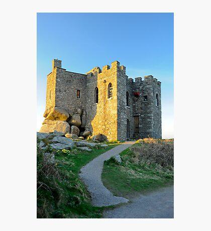 Carn Brea Castle: Redruth Cornwall UK Photographic Print
