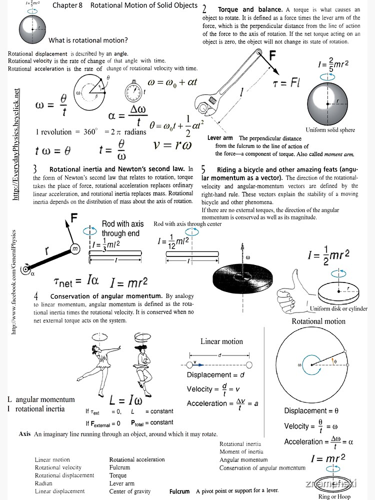 Rotational, displacement, rate, change, angle, time, torque, force, lever arm, perpendicular by znamenski