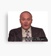 creed bratton Canvas Print