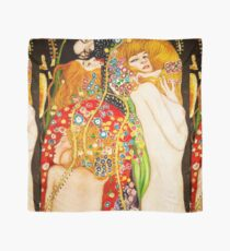 HD Water Snakes II, by Gustav Klimt 1907 HIGH DEFINITION Scarf