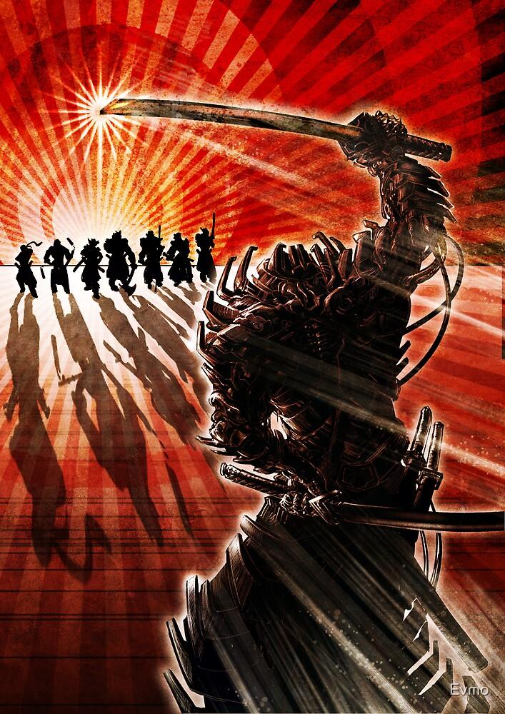 Samurai Showdown- Illustration by Evan F.E. Lole