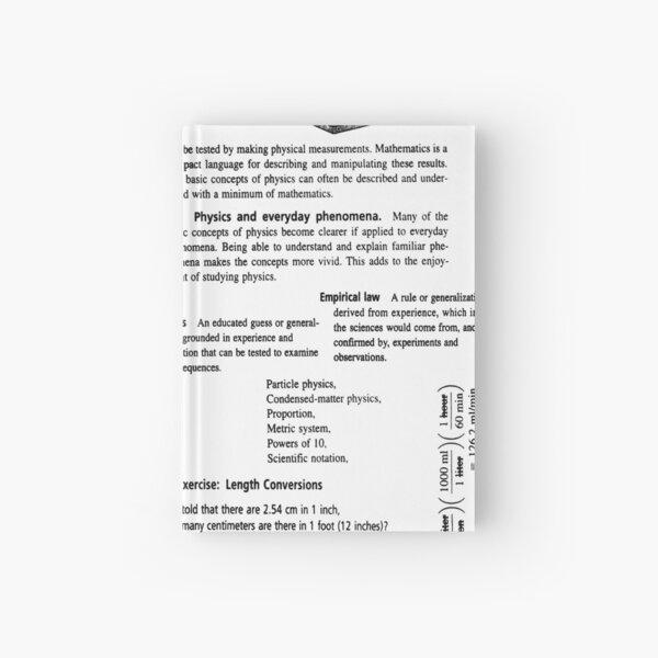 Physics Prints,  Diagram, Physics, General Physics, Mechanics, Kinematics, parallel, Optics, lipids, mustard, physical, condensed, physics, mass, physics, Modern Physics, nano Hardcover Journal