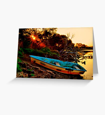 """""""Evening By The Creek"""" Greeting Card"""