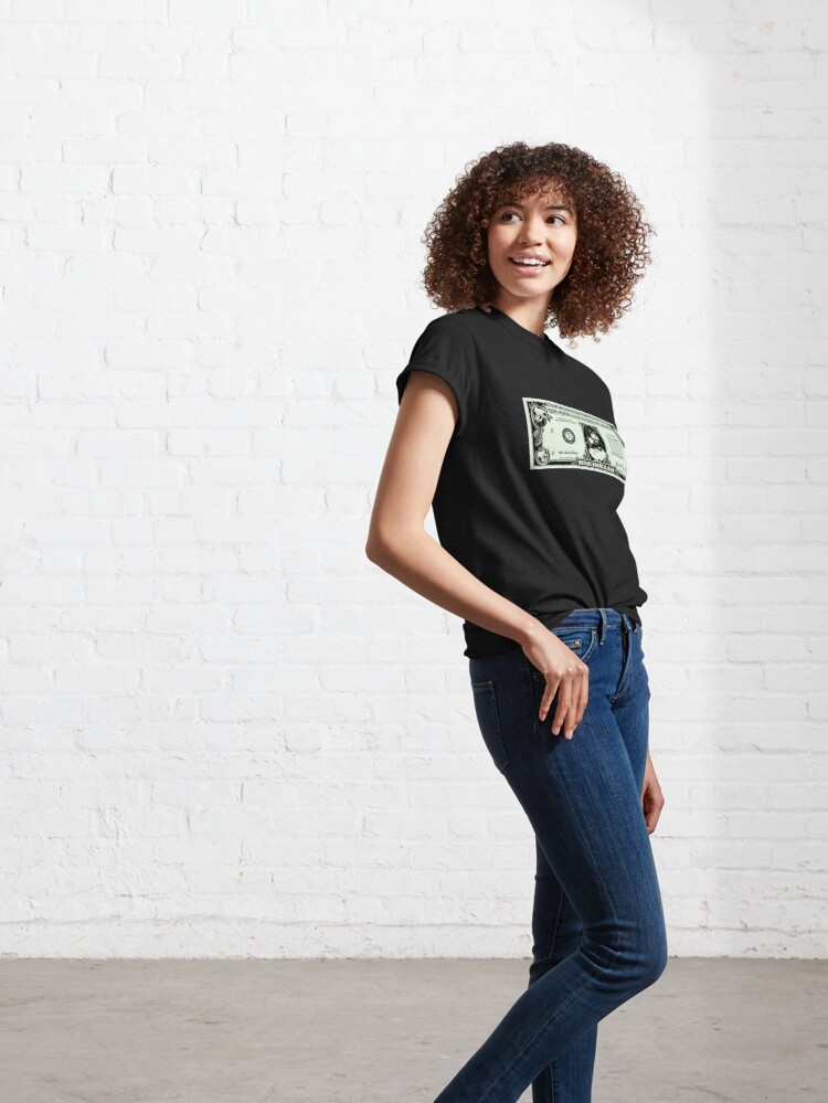 Alternate view of Orwellian Dollar Classic T-Shirt