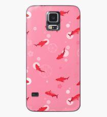 Sakura Shark Case/Skin for Samsung Galaxy
