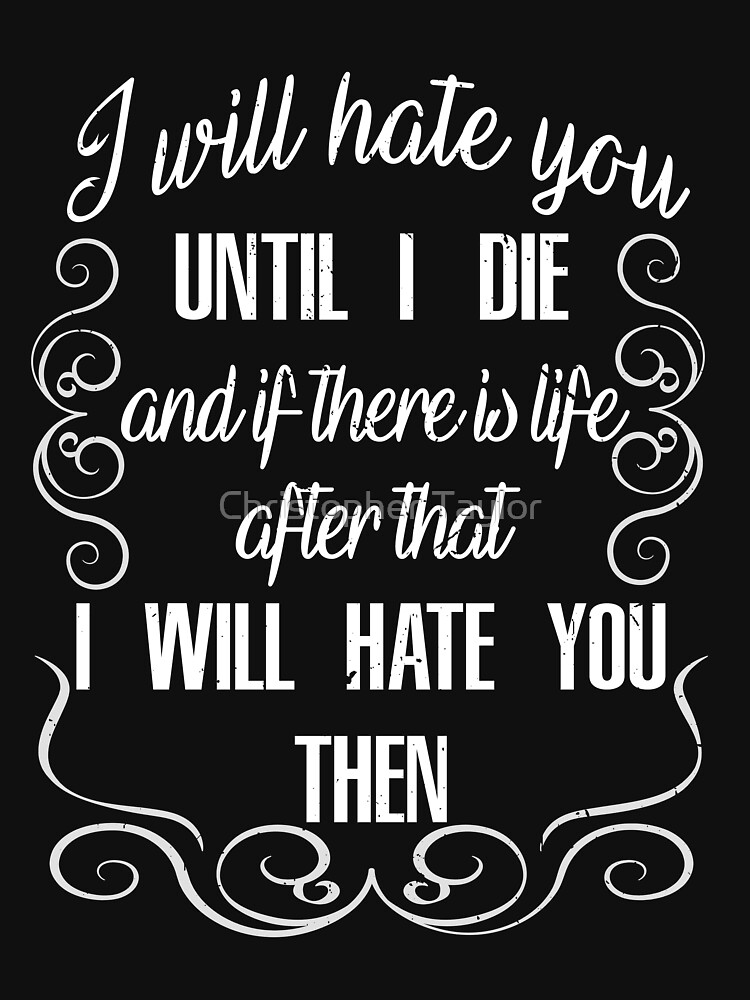 if then i hate you