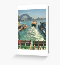 We're off to Manly Greeting Card