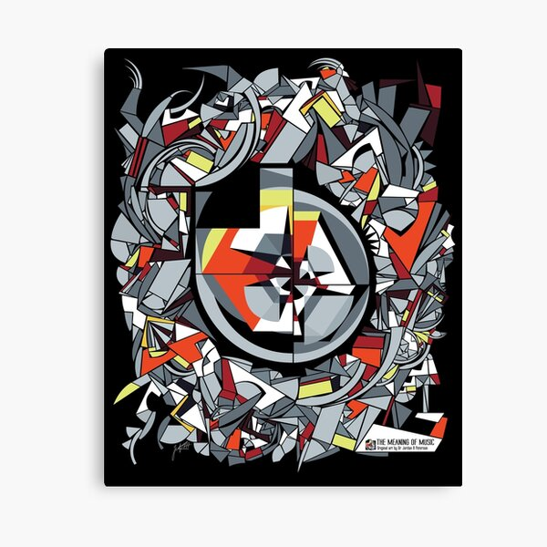The Meaning of Music (design) Canvas Print