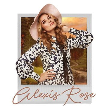 Alexis Rose Polaroid by itsmesarahe