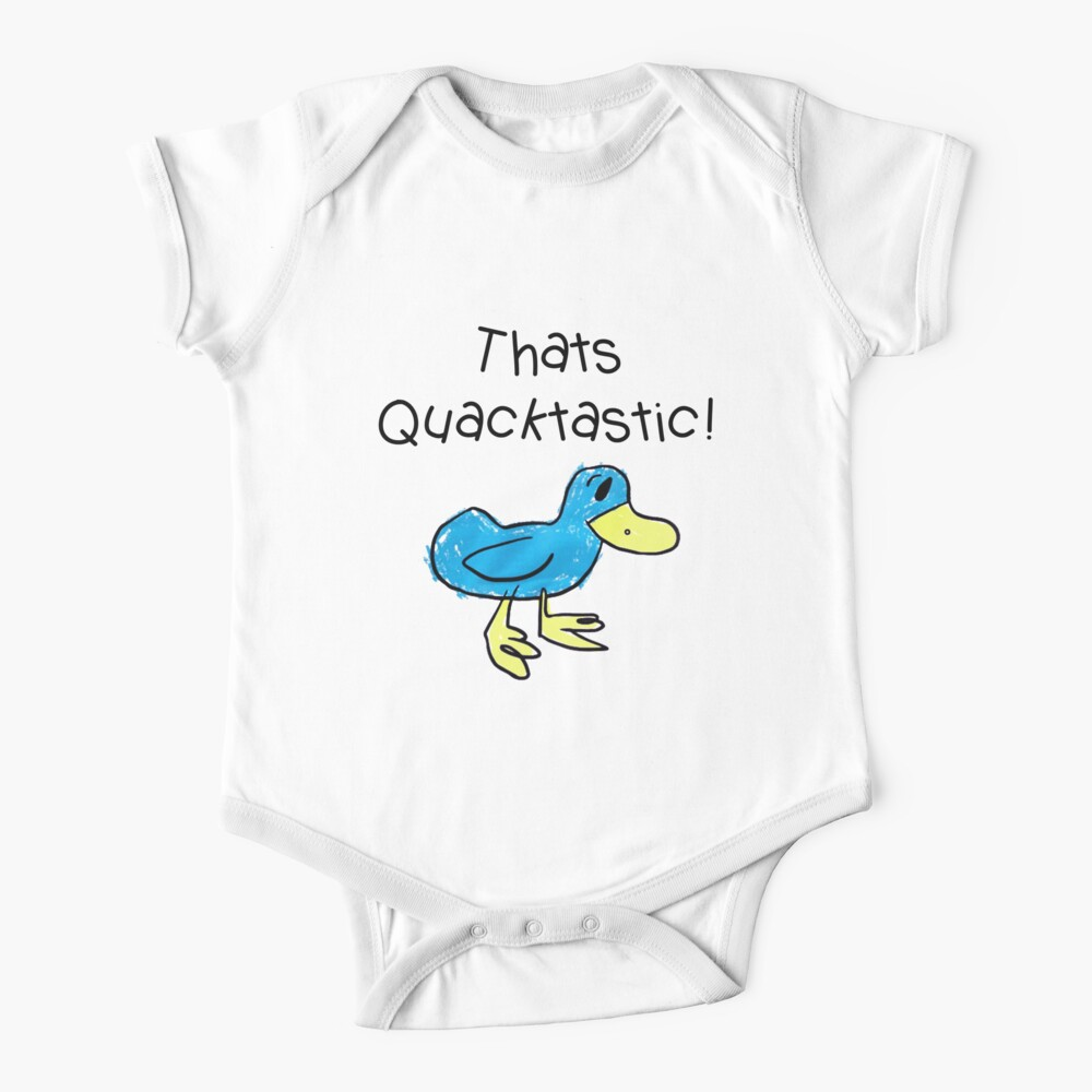thats Quacktastic Baby One-Piece