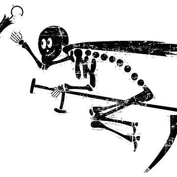 4./JG 77 Emil with black skeleton emblem (Luftwaffe) by pzd501
