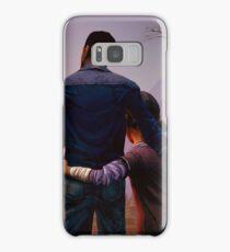 Clementine & Lee- The Walking Dead Game Samsung Galaxy Case/Skin