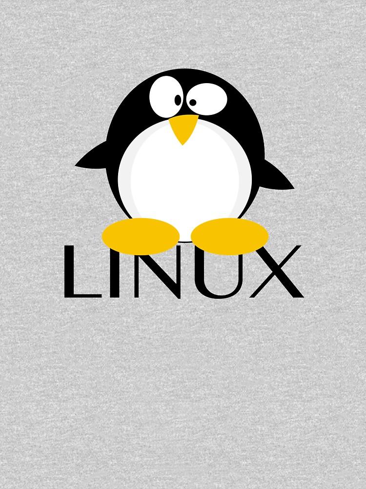 linux penguin unisex t shirt by 1smartchicken redbubble