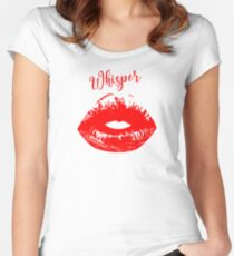 Lips EBXY'HG Women's Fitted Scoop T-Shirt