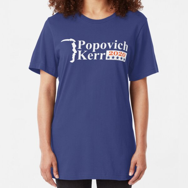 POPOVICH KERR 2020 Slim Fit T-Shirt