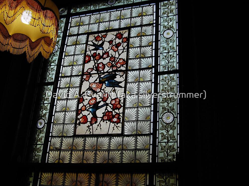 Stained Glass Window - 02 by David A. Everitt (aka silverstrummer)