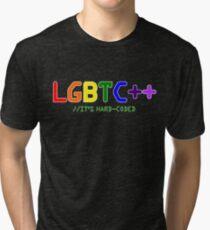 LGBTC++ - LGBT Programmer Sticker/Shirt Tri-blend T-Shirt