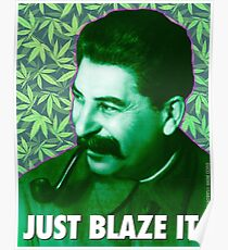 Josef 'Smoke Weed Everyday' Stalin Poster