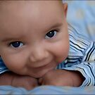 Blue-eyed boy by micklyn