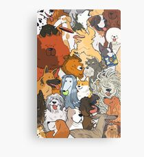 dogs dogs dogs Metal Print