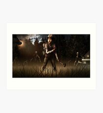 Clementine- The Walking Dead Game Art Print