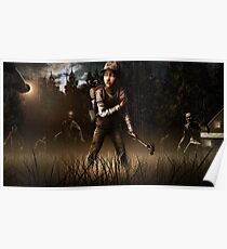 Clementine- The Walking Dead Game Poster