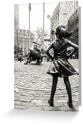 «Fearless Girl & Bull NYC» de Sean Sweeney