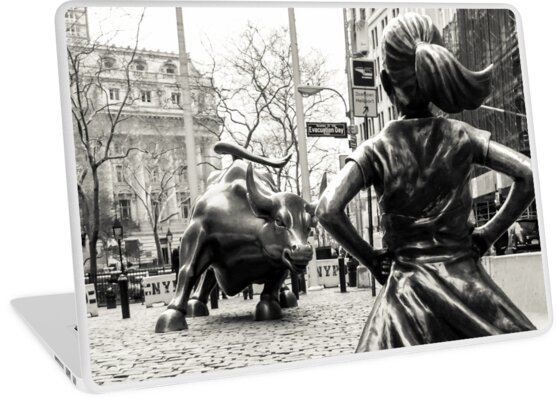 «Fearless Girl & Bull NYC» de Sean Sweeney